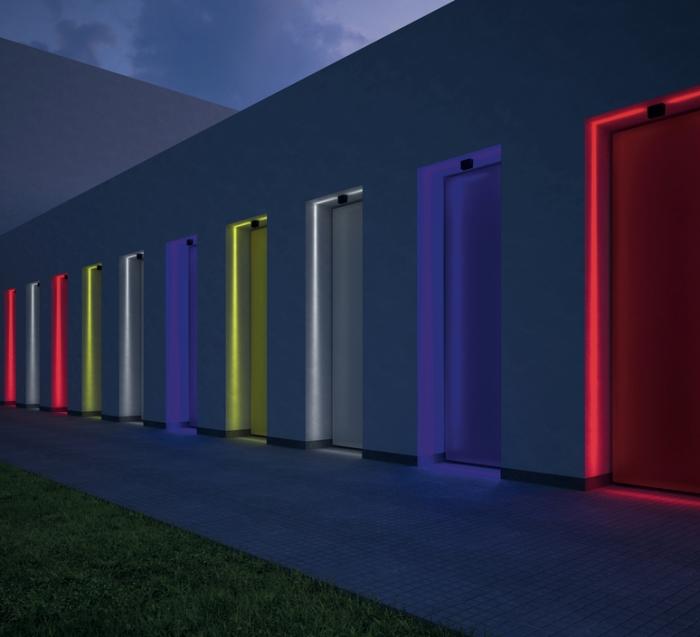 PLAFONNIER, ANTARKTIKOS RGB, BLANC, L11,8CM, H8,2CM - ARTEMIDE