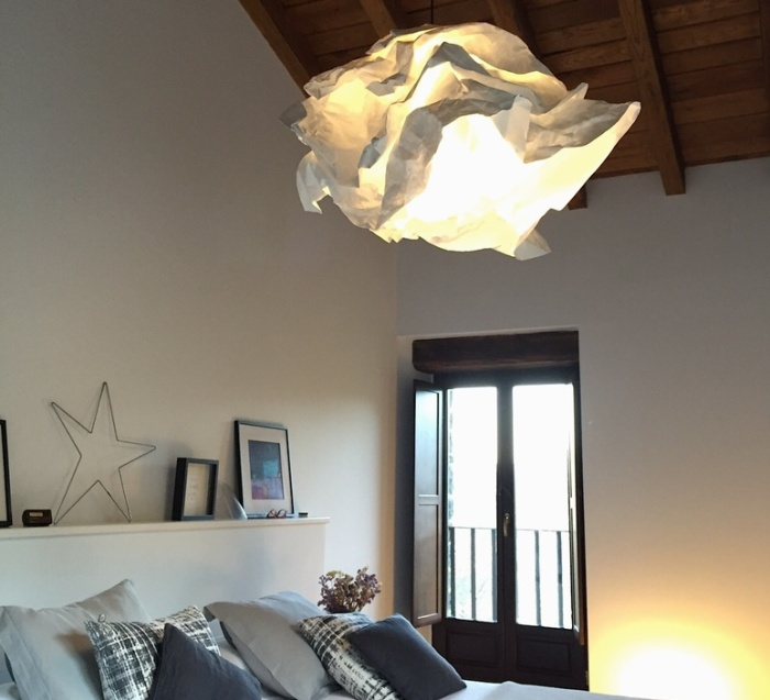 SUSPENSION, CLOUD-NUAGE, BLANC, Ø60CM - PROPLAMP