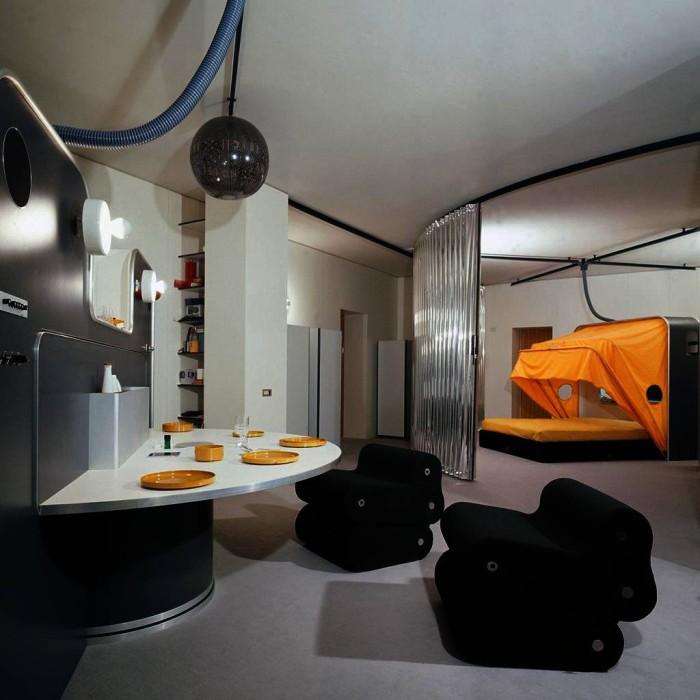 Découvrez le designer à l'esprit futuriste et utopique : Joe Colombo !