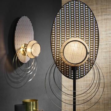 Market Set, une belle incarnation du design français dans les luminaires !, MASSAÏ, GRAPHIQUE, Ø40CM, H182CM - MARKET SET
