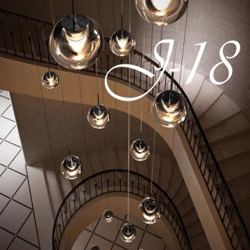 J-18 : Montez en grade en décorant vos escaliers !