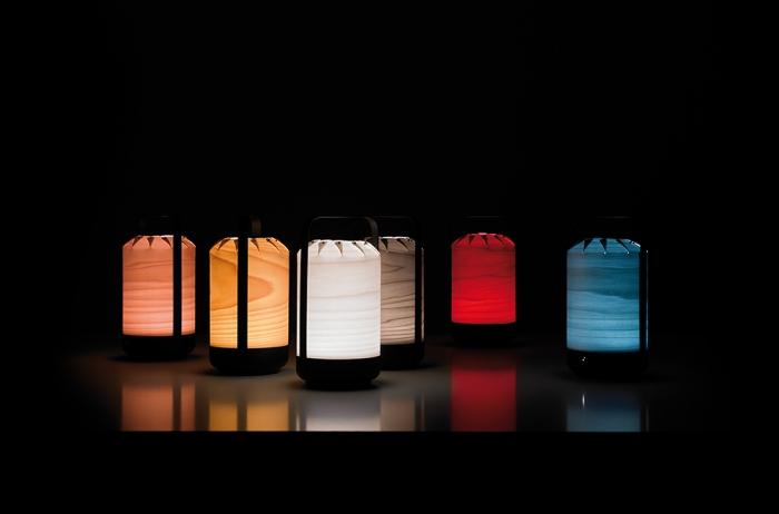 LAMPE À POSER, CHOU MPA, BLANC IVOIRE, LED, H40CM, Ø21,5CM - LZF