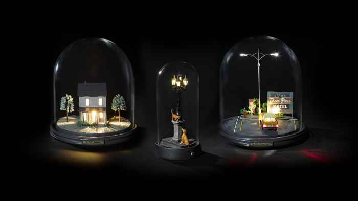 LAMPE À POSER, MY LITTLE FRIDAY NIGHT , TRANSPARENT, NOIR, 180LM, Ø25,5CM, H26,8CM - SELETTI