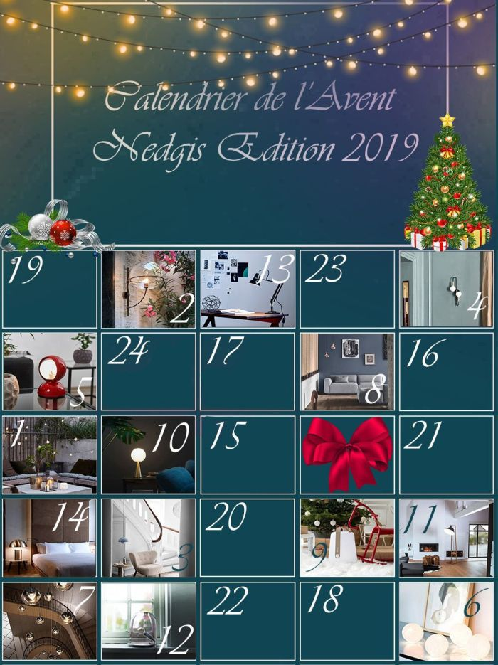 J-11 : Une chambre tendance aux couleurs de Noel !