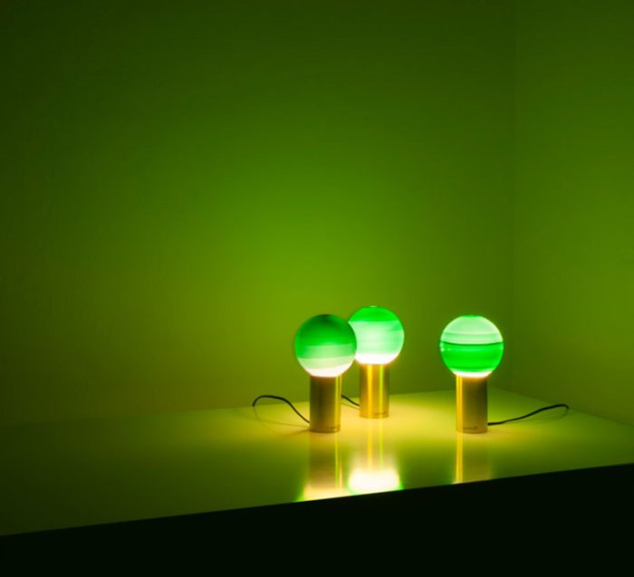 LAMPE À POSER, DIPPING LIGHT S, VERT, LAITON, LED, 2700K, 546LM, Ø20CM, H36CM - MARSET