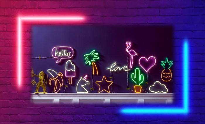 Le néon, une tendance au style futuriste qui fait son grand come-back !