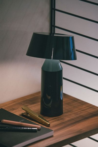 LAMPE À POSER, BICOCA, LED, DIMMABLE, ANTHRACITE, H22,5CM - MARSET