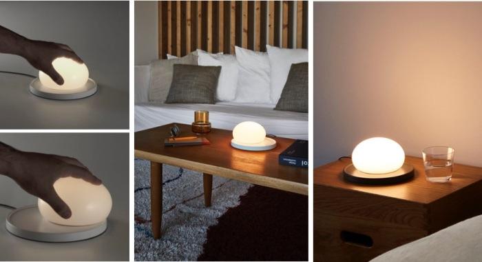 LAMPE À POSER, BOLITA, BLANC OU GRIS, LED, 2700K, 731LM, Ø18CM, H9CM - MARSET