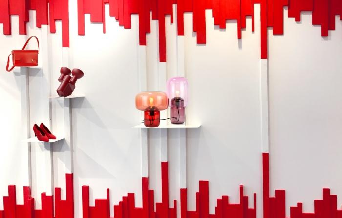 Exposition rouge passion - Incubateur des Ateliers de Paris
