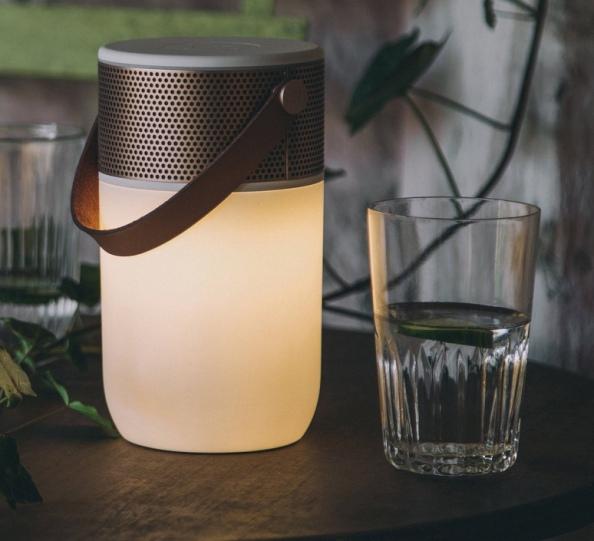 Les enceintes lumineuses de la marque danoise KreaFunk