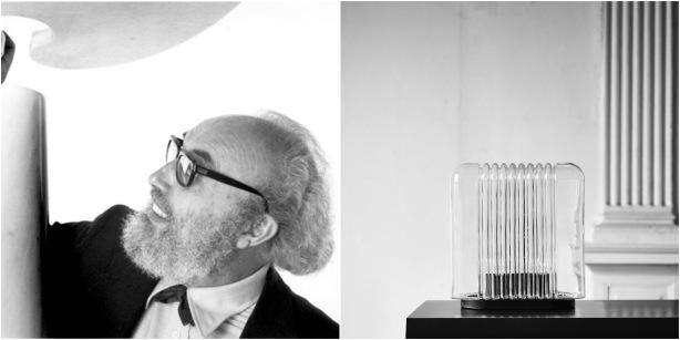 Designer Angelo Mangiarotti - Lari Lamp