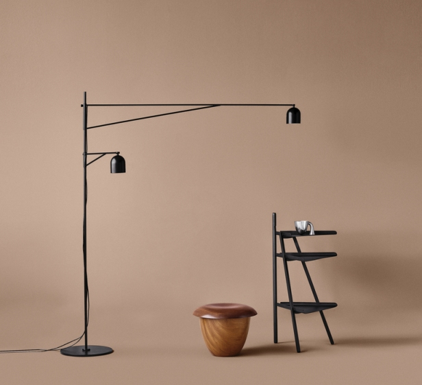Lampadaire Awkward Light par Anatomy Design