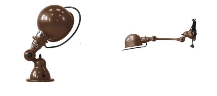 Les luminaires chocolat Jieldé
