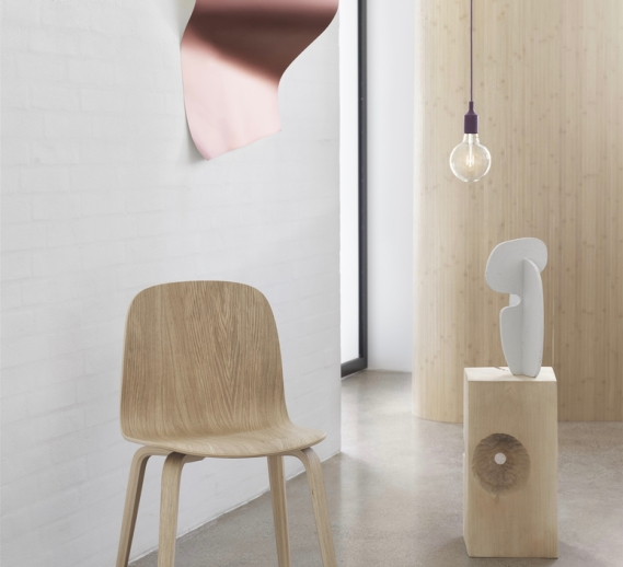 SUSPENSION, E27, VIOLET, LED, Ø12,5CM, H23CM - MUUTO