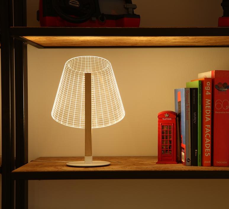 LAMPE À POSER, CLASSI, LED, H32CM - STUDIO CHEHA